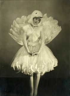 ♕ Vintage Costume Variations ♕  1920s Birdy circus costume