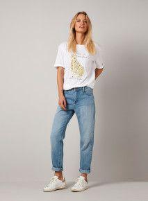 Yaya Denim Girlfriend Jeans