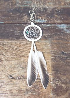 I want this Dream Catcher Keychain by SoulMakes for my rear view mirror…