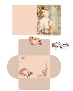 glenda's world free-download Lovely in Pink Card set