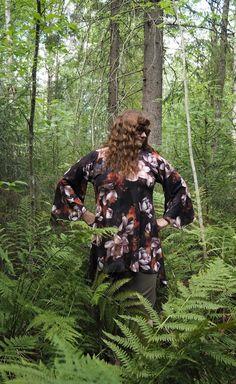 Vaateviidakko: Liehukepaitoja Diy Shirt, Handmade, Shirts, Clothes, Outfits, Hand Made, Clothing, Kleding, Outfit Posts