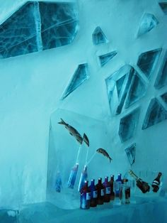 Gastronomista: Above the Arctic Circle - The Ice Hotel Ice Bar!!!