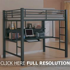 Best Teen Loft Beds With Desk Bedroom