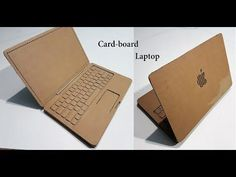 How to Make A laptop with Cardboard : Apple laptop - YouTube