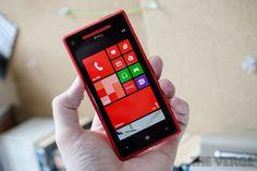 HTC Windows Phone 8X.