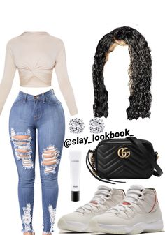 Polyvore Outfits, Boujee Outfits, Baddie Outfits Casual, Cute Swag Outfits, Cute Comfy Outfits, Stylish Outfits, Skirt Outfits, Jordan Outfits For Girls, Teenage Girl Outfits