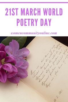 21st March World Poetry Day