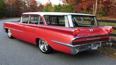 1959 Oldsmobile station wagon is strangely beautiful