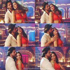 Shah Rukh Khan and Deepika Padukone - Happy New Year (2014)