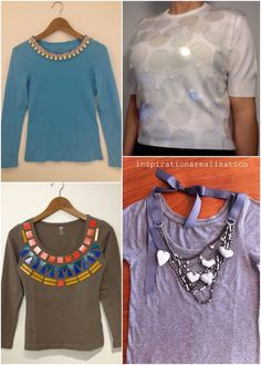 DIY 34 ways to revamp a t-shirt