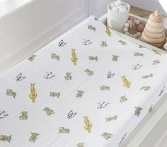 Shop Pottery Barn Kids' changing pads and make the table top comfier for your baby. Find changing pad covers that will add a pop of color to your changing table. Baby Changing Table, Changing Pad, Baby Bedding Sets, Nursery Bedding, Crib Mattress, Crib Sheets, Playroom Furniture, Wearable Blanket, Hanging Mobile