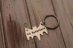 personalised superman keyring - Google Search