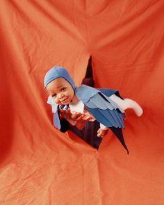 Bluebird Halloween Costume How-To