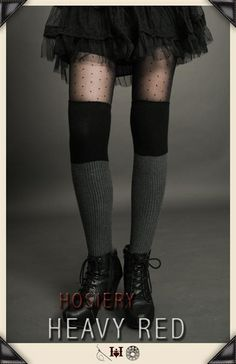 http://www.heavyred.com/GREY-BLACK-SWEATER-SOCKS-p/7229.htm