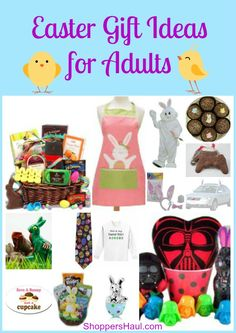 Easter Gift Ideas for Adults!!