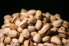 We are on a pistachio kick!  The salt and pepper pistachios from Costco are super yummy!