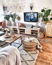 New Stylish Bohemian Home Decor und Design-Ideen … Bohemian Living Rooms, Indian Living Rooms, Bohemian Decor, Living Room Decor, European Home Decor, Indian Home Decor, Diy Home Decor, Decoration Ikea, Decoration Design