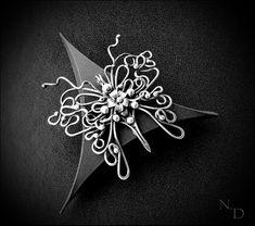 handmade, pendant, silver, wire jewelry