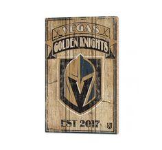 vegas golden knights fleury | NHL Vegas Golden Knights 15 x 24 Wooden Plaque | Ice Locker