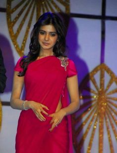 Spicy Samantha Photos In Maroon Saree Indian Actress Photos, Beautiful Indian Actress, Indian Actresses, Beautiful Saree, Samantha In Saree, Samantha Ruth, Stylish Dresses, Nice Dresses, Fashion Dresses