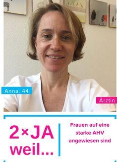 Gemeinsam für eine starke #ahv Deshalb zweimal Ja zur #AV2020