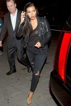 Kim Kardashian's Greatest Style - Every Dress and Fashionable Look of Kim Kardashian Kim Kardashian Family, Kardashian Style, Kardashian Fashion, Kardashian Kollection, Celebrity Dresses, Celebrity Style, Post Baby Fashion, Fashion Beauty, Fashion Looks