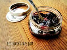 Rosemary Concord Grape Jam