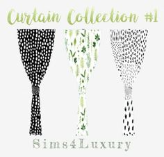 Sims 4 Luxury - Curtain Collection 1 for The Sims 4