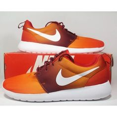 889be809d2f3a Nike Other - Nike ROSHE Mens one print orange white shoes Nike Roshe