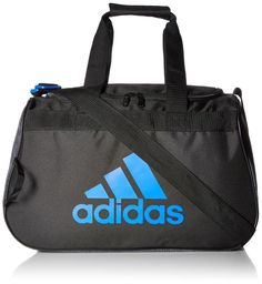 9fafdbb1ea adidas Diablo Small Duffle Bag Black Blue New