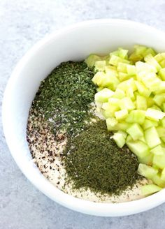 Super Easy Vegan Tzatziki Sauce - This healthy vegan and gluten free sauce is an ample dip for any occasion. Tastes just like the real thing but even better! NeuroticMommy.com #vegan #healthy