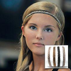 Show details for Sparkle Headbands - Assortment of 4 #hair #accessories #headband