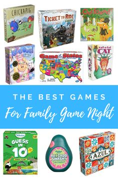 Are you looking for the best game for your next family game night? Check out our list of the best games for toddlers and preschoolers as well as older kids. #family game night #best preschool games #preschool learning games #toddler games #best board games Gross Motor Activities, Indoor Activities For Kids, Games For Toddlers, Preschool Games, Preschool Learning, Learning Games, Infant Activities, Toddler Games, Educational Activities