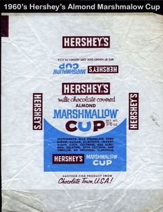 Hershey Almond Marshmallow Cup