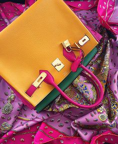Hermes in funky colours.