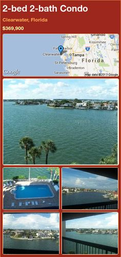 2-bed 2-bath Condo in Clearwater, Florida ►$369,900 #PropertyForSale #RealEstate #Florida http://florida-magic.com/properties/9346-condo-for-sale-in-clearwater-florida-with-2-bedroom-2-bathroom
