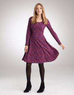By Pepperberry - Floral Skater Dress for stylish yet casual comfort.