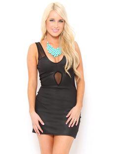 Mesh Mini #Dress