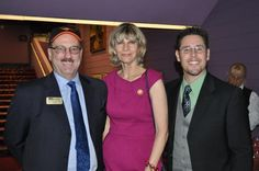 Steve Queior, President/CEO of the 1,600 member employer Greater Sarasota Chamber of Commerce with Sarasota Mayor Suzanne Atwell and Frank Maggio. The Greater Sarasota Chamber of Commerce is largest and oldest business organization based in Sarasota County.  The Chamber is partnered as an alliance member of Sister Cities Association of Sarasota since 2005.