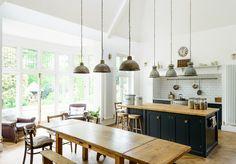 Shaker Kitchens by deVOL - Handmade Painted English Kitchens