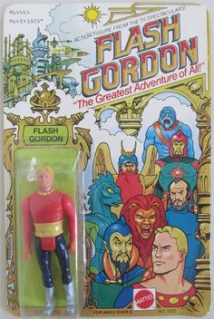Flash Gordon action figure by Mattel