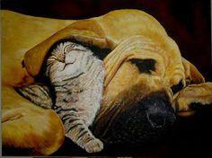 Innocense... Acrylic painting on canvas