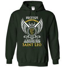 (Tshirt Awesome Choose) A woman who graduated from Saint Leo University Tshirt Best Selling Hoodies, Tee Shirts