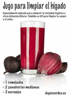 Jugo para limpiar el higado - Juice to cleanse the liver A top doctor reveals the foods that are hindering your ability to remember things and think clearly. Recipe for Beet Kvass Juicing Tips And Techniques Anyone Can Use - Juicing and Smoothies From ge Healthy Juices, Healthy Smoothies, Healthy Drinks, Healthy Tips, Smoothie Recipes, Healthy Food, Beet Kvass, Beet Recipes, Juice Recipes
