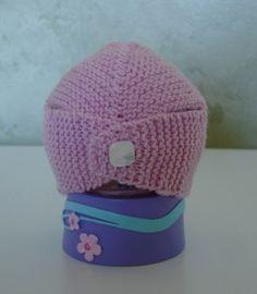 Newborn / Preemie Turban knit pattern