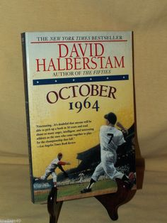 OCTOBER 1964 DAVID HALBERSTAM FAWCETT MAY 1995 WILL HILLENBRAND BASEBALL PB