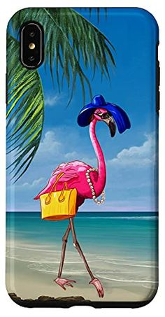 iPhone XS Max Elegant Tropical Pink Flamingo Bird Crazy Flamingo Lady Case Pearl Maricela Pink Flamingos Birds, Flamingo Bird, Flamingo Gifts, Buy Iphone, Tropical, This Or That Questions, Elegant, Lady, Pearl