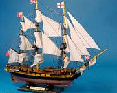 "HMS Surprise 30"" Deluxe Edition Model Replica Ship / Master and Commander / War of 1812 Tall Ship Models / Children's Toy Model Boat"