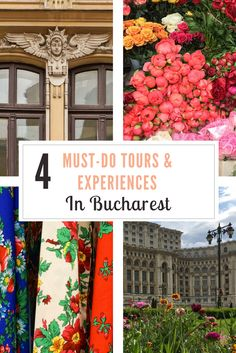 When visiting Bucharest, if you like to look beyond the veneer of a destination, here are four off-the-beaten-track tours and experiences you must do.