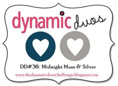 Dynamic Duos: Challenge #30-Navy and Silver